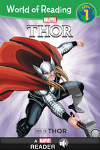 Image: World of Reading This Is Thor SC  - Marvel Press