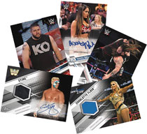 Image: Topps 2017 WWE Then Now Forever Card Box  - Topps Company