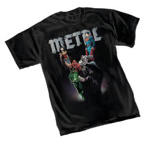 Image: Dark Nights T-Shirt: JLA by Capullo  (M) - Graphitti Designs