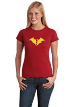 Image: DNM Women's T-Shirt: Red Death  (S) - Graphitti Designs