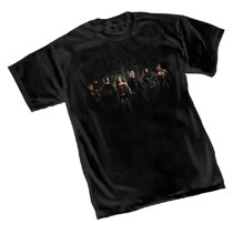 Image: Justice League T-Shirt: Group  (XXL) - Graphitti Designs
