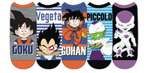 Image: Dragonball Z Low Cut Socks: Character  (5-Pack) - Everything Legwear