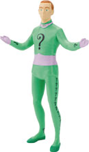 Image: Batman '66 Bendable Figure: Riddler  (5.5-inch) - N J Croce Company