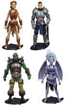 Image: Vitruvian Hacks Fantasy Action Figure Assortment Wave 1  - Boss Fight Studio LLC