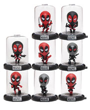 Image: Marvel Deadpool Domez Series 1 Figures 24-Piece Blind Mystery Box Display  - Ucc Distributing