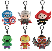 Image: Marvel Universe Plush Clips 24-Piece Blind Mystery Box Display  - Ucc Distributing
