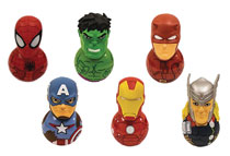 Image: Marvel Universe Rockerz 24-Piece Blind Mystery Box Display  - Ucc Distributing