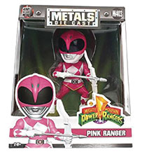 Image Metals Mighty Morphin Power Rangers Die Cast Figure Pink Ranger 4