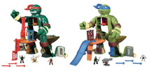 Image: Teenage Mutant Ninja Turtles Microfigure Playset Case  (9.5-inch) - Playmates
