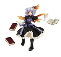 Image: Touhou Project the Youkai Who Read a Book  (limited edition) - Bellfine