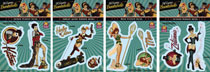 Image: DC Bombshells Decal Pack 3  - Elephant Gun, LLC