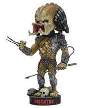 Image: Predator Head Knocker: Predator with Spear  - Neca