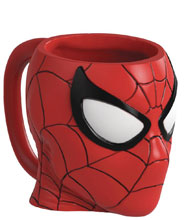 Image: Spider-Man Head Ceramic Sculpted Mug  - Zak Designs