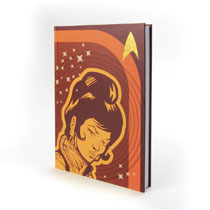 Image: Star Trek: TOS Hard Cover Journal - Uhura  - Crowded Coop, LLC