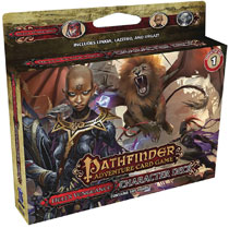 Image: Pathfinder Adventure Card Game Character Deck: Hell's Vengeance 1  - Paizo Inc