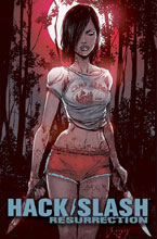 Image: Hack/Slash: Resurrection #12 (cover A - Seeley & Filardi) - Image Comics