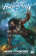 Image: Aquaman: War for the Throne SC  - DC Comics