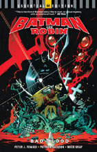 Image: Batman and Robin: Bad Blood  (DC Essential Edition) SC - DC Comics