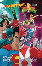 Image: Justice League / Power Rangers SC  - DC Comics