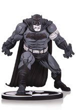 Image: Batman Black & White Statue: Batman by Klaus Janson  - DC Comics