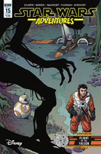 Image: Star Wars Adventures #15 (cover A - Mauricet) - IDW Publishing