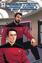 Image: Star Trek: TNG - Terra Incognita #4 (cover A - Shasteen) - IDW Publishing