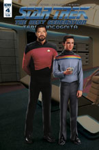 Image: Star Trek: TNG - Terra Incognita #4 (cover B - Photo) - IDW Publishing