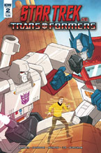 Image: Star Trek vs. Transformers #2 (cover A - Murphy) - IDW Publishing