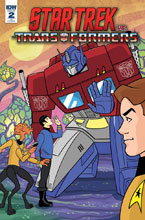 Image: Star Trek vs. Transformers #2 (incentive cover - Charm) (10-copy) - IDW Publishing