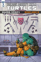 Image: Teenage Mutant Ninja Turtles Macroseries: Michelangelo  (cover B - Dialynas) - IDW Publishing