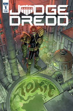 Image: Judge Dredd: Toxic #1 (cover A - Buckingham) - IDW Publishing