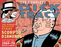 Image: Complete Chester Gould Dick Tracy Vol. 25 HC  - IDW Publishing