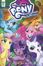Image: My Little Pony: Friendship Is Magic #71 (incentive cover - Cibos) (10-copy) - IDW Publishing