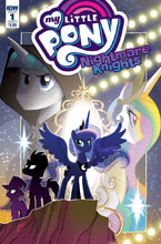 Image: My Little Pony: Nightmare Knights #1 (cover A - Fleecs) - IDW Publishing