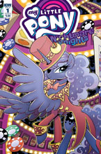 Image: My Little Pony: Nightmare Knights #1 (cover B - Hickey) - IDW Publishing
