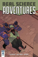 Image: Real Science Adventures: Nicodemus Job #4 (cover A - McClaren) - IDW Publishing