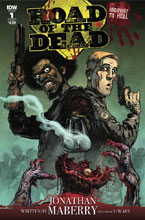Image: Road of the Dead: Highway to Hell #1 (cover A - Santiperez) - IDW Publishing