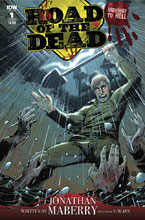 Image: Road of the Dead: Highway to Hell #1 (cover B - Moss) - IDW Publishing