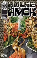 Image: House Amok #3 (cover B - Edwards) - IDW Publishing
