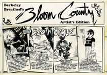 Image: Berkeley Breathed: Bloom County Artist Edition HC  - IDW Publishing