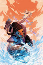 Image: Shuri #1 (variant cover - Jamal Campbell) - Marvel Comics
