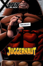Image: X-Men Black: Juggernaut #1 (variant Mugshot cover - Larroca) - Marvel Comics
