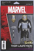 Image: What If? Thor #1 (variant Action Figure cover - Christopher) - Marvel Comics