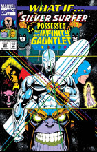 Image: True Believers: What If Silver Surfer Possessed Gauntlet? #1 - Marvel Comics