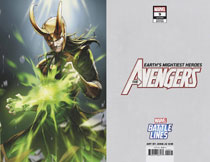 Image: Avengers #9 (variant Marvel Battle Lines cover - Sujin Jo) - Marvel Comics