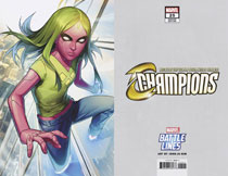 Image: Champions #25 (variant Marvel Battle Lines cover - Keunwoo Lee) - Marvel Comics
