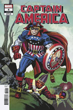 Image: Captain America #4 (variant Remastered cover - Kirby)  [2018] - Marvel Comics
