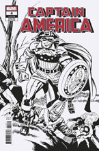 Image: Captain America #4 (variant Remastered B&W cover - Kirby) - Marvel Comics