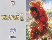 Image: Weapon H #8 (variant Marvel Battle Lines cover - Sujin Jo) - Marvel Comics