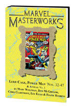 Image: Marvel Masterworks: Luke Cage, Power Man Vol. 03 HC  (variant DM cover) (271) - Marvel Comics